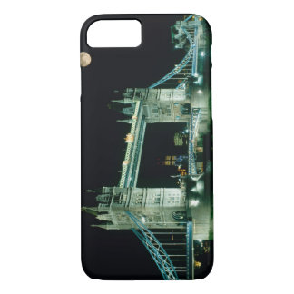 Tower Bridge at Night, London, England iPhone 8/7 Case