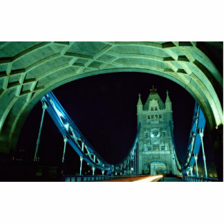 Tower Bridge at night, London, England Cut Outs