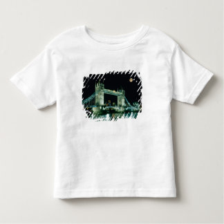Tower Bridge at Night, London, England Toddler T-Shirt