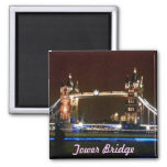 Tower Bridge at Night on Magnet