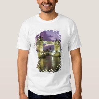 Tower Bridge at Night Shirts