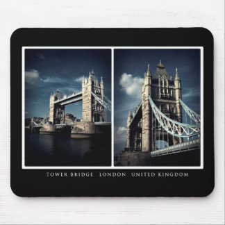 Tower Bridge Diptych Mouse Pad