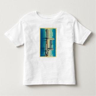 Tower Bridge Elevated for Sacramento River Toddler T-Shirt