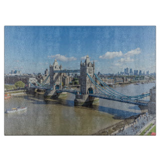 Tower Bridge glass Cutting Board
