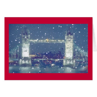 Tower Bridge greetings/Christmas card