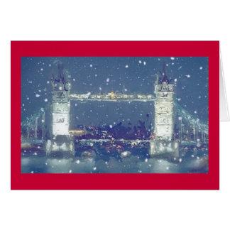 Tower Bridge greetings/Christmas card