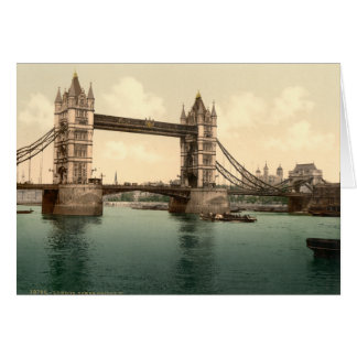 Tower Bridge II, London, England Card