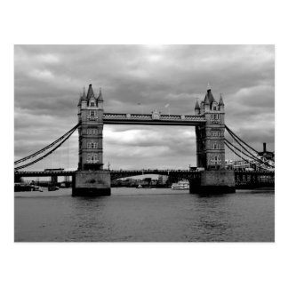 tower bridge in black and white postcards