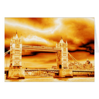 Tower Bridge in Gold Card