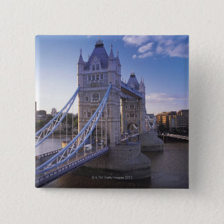 Tower Bridge in London 15 Cm Square Badge