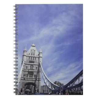 Tower Bridge in London, England 2 Notebooks