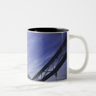Tower Bridge in London, England 2 Two-Tone Coffee Mug