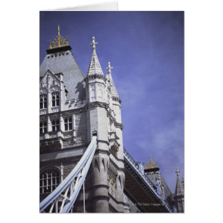 Tower Bridge in London, England Card