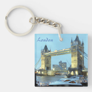 Tower Bridge in London England souvenir photo Key Ring