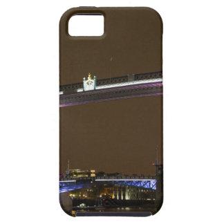 Tower Bridge in Princess pink iPhone 5 Case