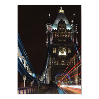 Tower Bridge Lights London United Kingdom Europe Card