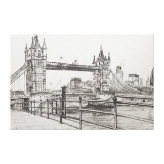 Tower Bridge London 2006 Canvas Print
