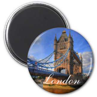 Tower bridge London 6 Cm Round Magnet