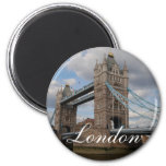 Tower bridge London 6 Cm Round Magnet