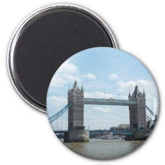 Tower Bridge, London 6 Cm Round Magnet