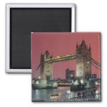 Tower Bridge, London at sunset, England, U.K. Refrigerator Magnet