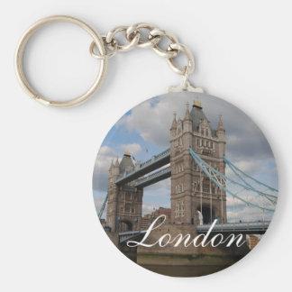 Tower bridge London Basic Round Button Key Ring