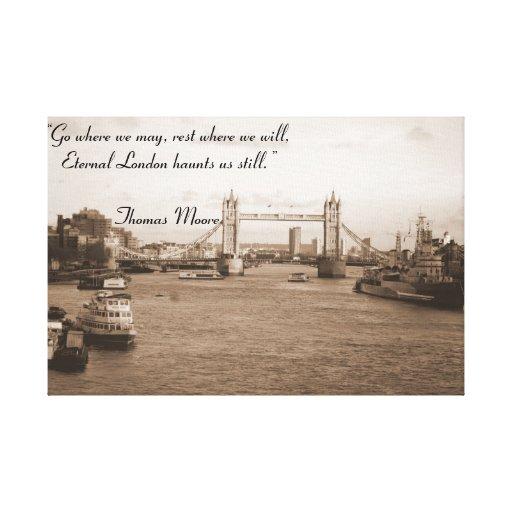 Tower Bridge - London Canvas Prints