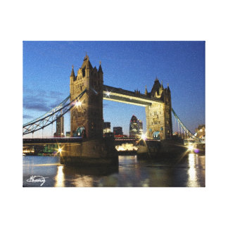 Tower Bridge London Gallery Wrapped Canvas