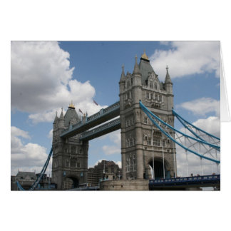 tower bridge london card