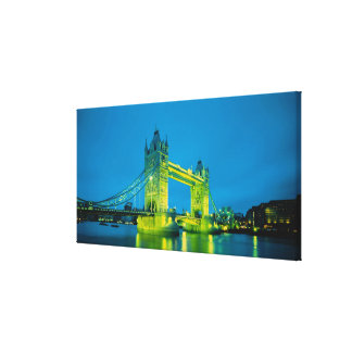 Tower Bridge, London, England 2 Gallery Wrapped Canvas