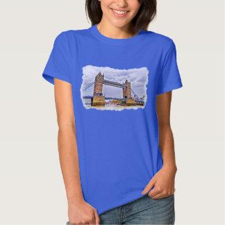 Tower Bridge London, England Art design T-shirt