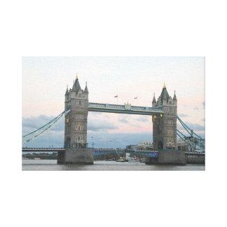 Tower Bridge, London England Canvas Print