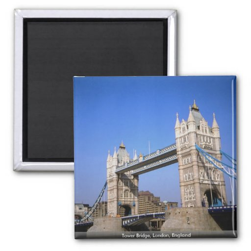 Tower Bridge, London, England Fridge Magnet
