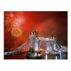 Tower Bridge London England Postcard