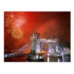 Tower Bridge London England Postcard
