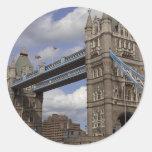 Tower Bridge- London, England Round Sticker