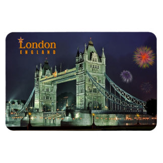 Tower Bridge. London Rectangular Photo Magnet