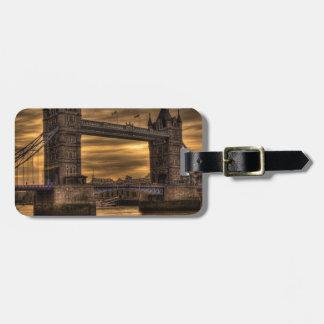 Tower Bridge London Luggage Tag