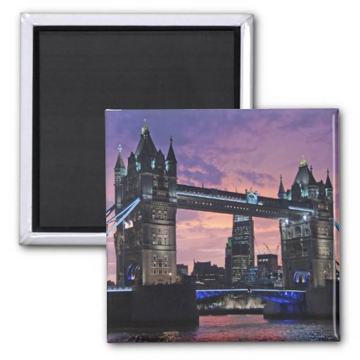 Tower Bridge, London Fridge Magnet