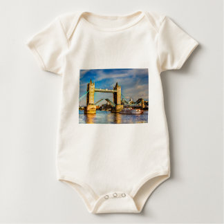 Tower Bridge London opening Baby Bodysuit