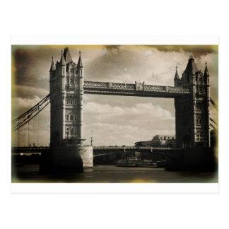 Tower Bridge London Postcard