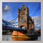 Tower bridge London Poster