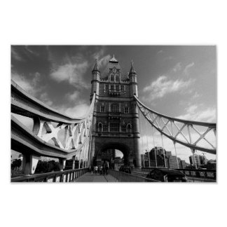 Tower Bridge London Poster