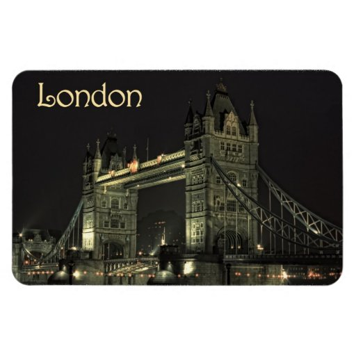 Tower Bridge London Vinyl Magnets
