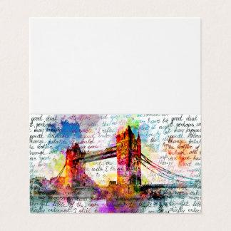 Tower Bridge, London, Sketchbook kind Card
