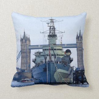 Tower Bridge London. Throw Pillow