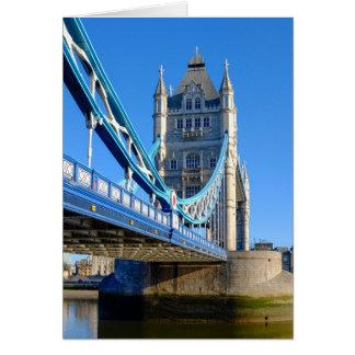 Tower Bridge London UK Greeting Card