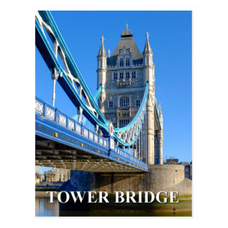 Tower Bridge, London UK Postcard