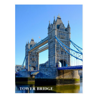 Tower Bridge London UK Postcard