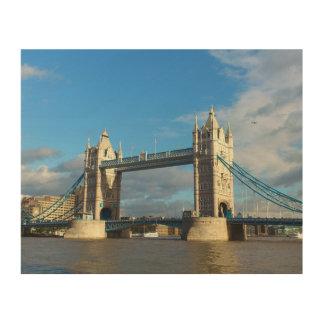 Tower Bridge London. Wood Prints